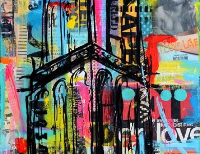 martinitoren groningen kunst schilderij janet edens