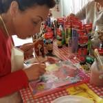 workshop mixed media portret schilderen
