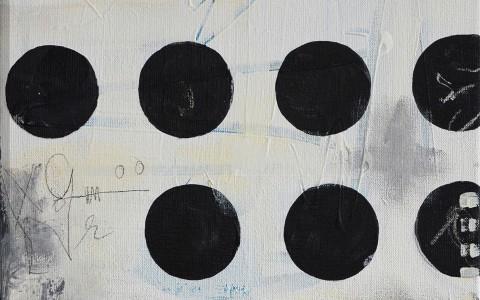 acryl en mixed media schilderij betaalbaar kunst kunstwerk schilderij janet edens