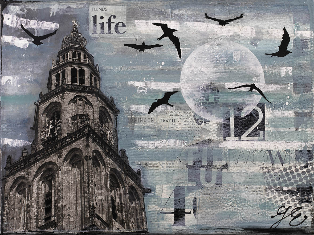 Martinitoren-Groningen-schilderij-janetedens