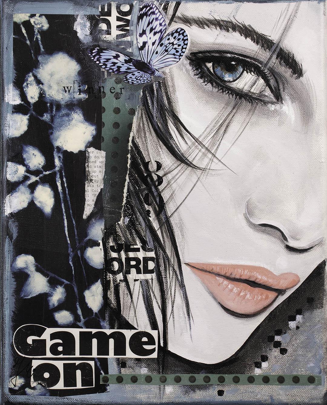 vrouwgezicht-schilderij-ogen-donkerekleuren