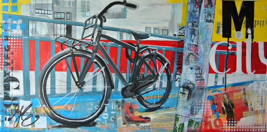 blog over schilderen met acryl en mixed media janet edens