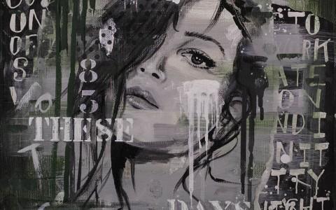 groen-vrouwengezicht-typografie-janetedens